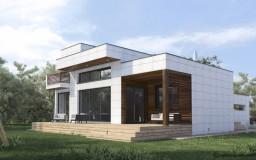 MH155 Casa de Madera Bioclimática - Casa pasiva - Passivhaus