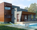MH147 Casa de madera bioclimática - Casa pasiva - Passivhaus