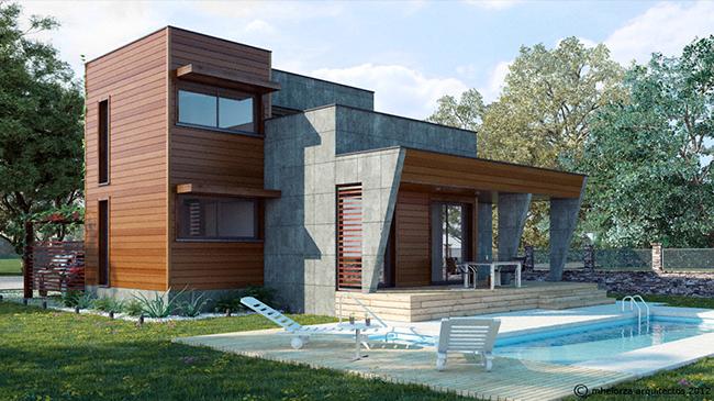 Residencialresidential estudio de arquitectura mhelorza for Construccion de casas bioclimaticas