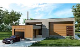 MH95 Casa de Madera Bioclimática - Casa pasiva - Passivhaus