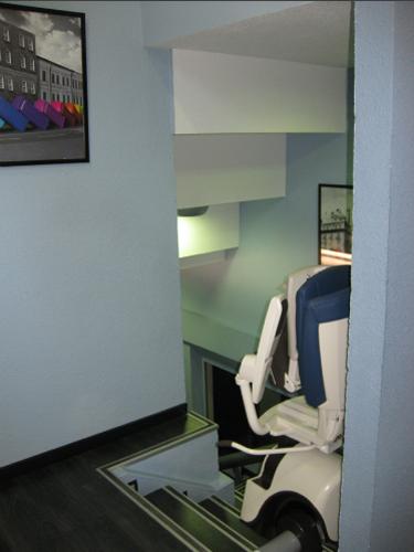 Detalle interior Centro de inglés