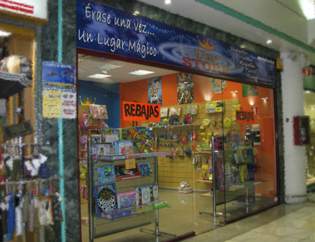 Detalle entrada ToyStore
