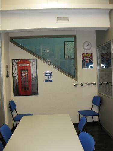Detalle aula Centro de inglés