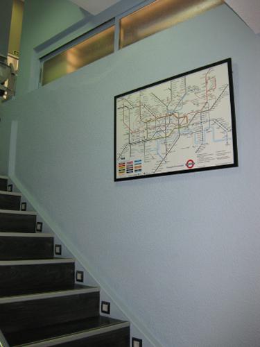 Detalle escaleras Centro de inglés