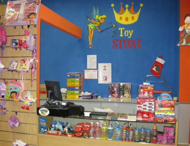 Detalle interior ToyStore