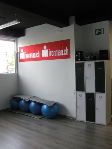 Detalle interior 3 proyecto gimnasio Triatlon Running