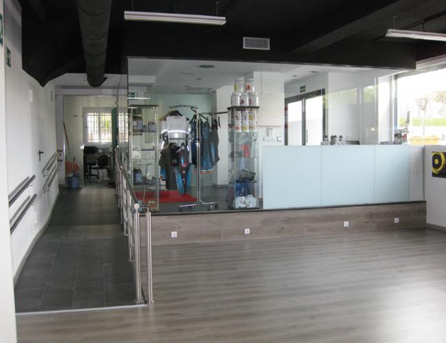 Detalle interior 4 proyecto gimnasio Triatlon Running