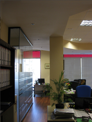 Detalle oficinas proyecto asesoría