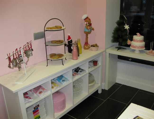 Detalle estanteria La dulce muñeca de trapo