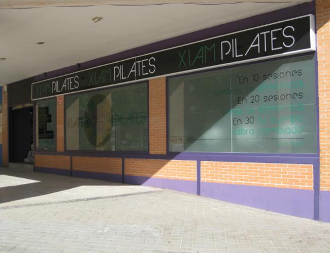 Fachada perfil Xiam Pilates