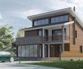 MH228 by mhelorza arquitectos. Casa de madera bioclimática.