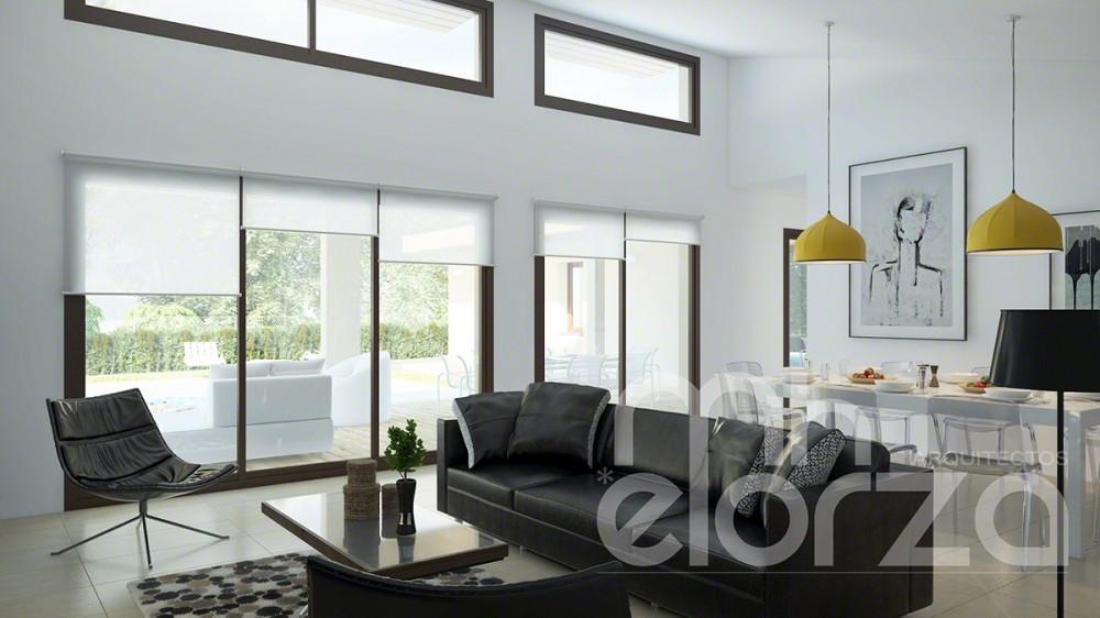Casa de madera - Interiores Pinosol