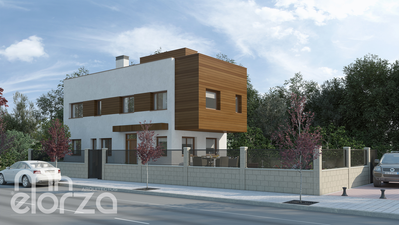 2 viviendas unifamiliares pareadas en municipio de toledo - Estudios de arquitectura en toledo ...